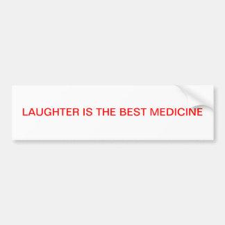 LAUGHTER BUMPER STICKER