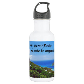 Laughter is the best medicine 532 ml water bottle