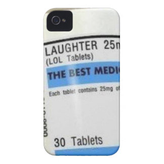 Laughter is the Best Medicine iPhone 4 Case