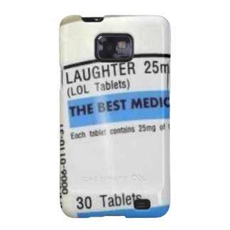 Laughter is the Best Medicine Samsung Galaxy SII Cases