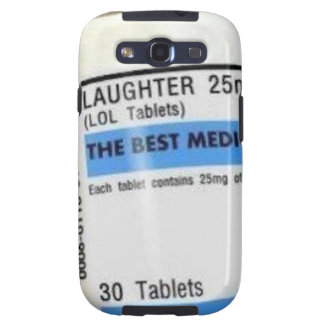 Laughter is the Best Medicine Samsung Galaxy S3 Covers