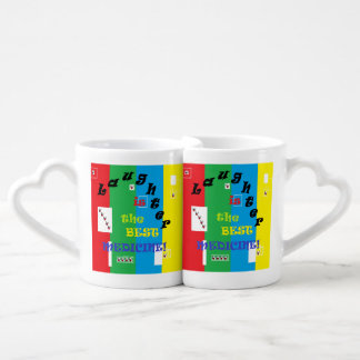 Laughter is the Best Medicine Coffee Mug Set