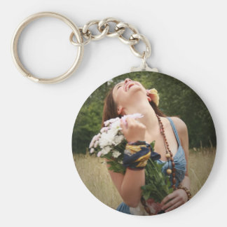 Laughter is the best Medicine Key Ring
