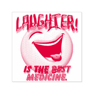 Laughter is the Best Medicine Self-inking Stamp