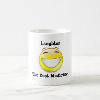 Laughter Classic White Coffee Mug