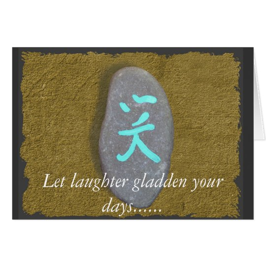 Laughter Notecard/greeting card