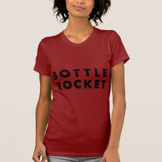 Launch A Bottle Rocket (Black) T-Shirt