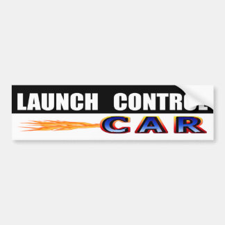 Launch Control Car Bumper Sticker