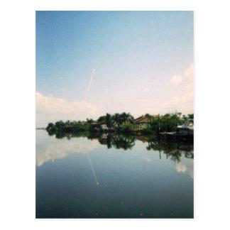 Launch Mirror Postcard