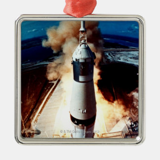 Launch of a Rocket 2 Christmas Ornament