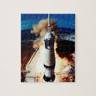 Launch of a Rocket 2 Jigsaw Puzzle