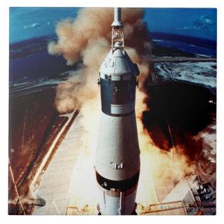 Launch of a Rocket 2 Tile