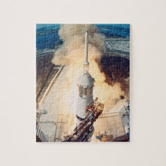 Launch of a Rocket Jigsaw Puzzle