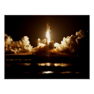 Launch of Space Shuttle Atlantis (STS-101) Print