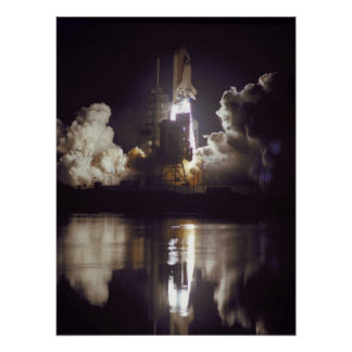 Launch of Space Shuttle Atlantis STS-101 Posters
