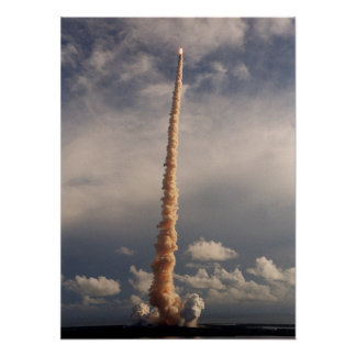 Launch of Space Shuttle Atlantis (STS-106) Posters