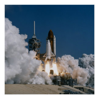 Launch of Space Shuttle Atlantis (STS-46) Posters