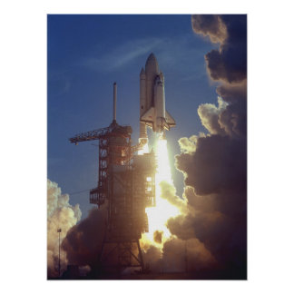 Launch of Space Shuttle Columbia (STS-1) Posters