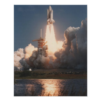 Launch of Space Shuttle Columbia STS-2 Posters