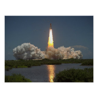 Launch of Space Shuttle Columbia (STS-65) Posters