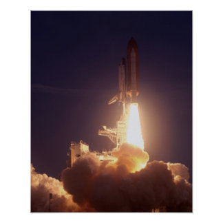 Launch of Space Shuttle Discovery STS-96 Posters