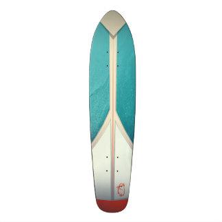 """Launch""  (Throwback Skate Deck) 21.6 Cm Old School Skateboard Deck"