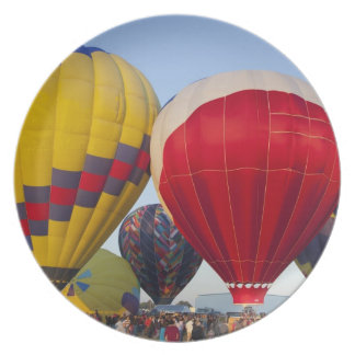 Launching hot air balloons 2 plate
