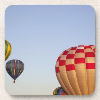 Launching hot air balloons 3 drink coaster