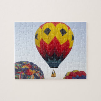 Launching hot air balloons jigsaw puzzle