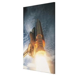 Launching Space Shuttle Gallery Wrapped Canvas