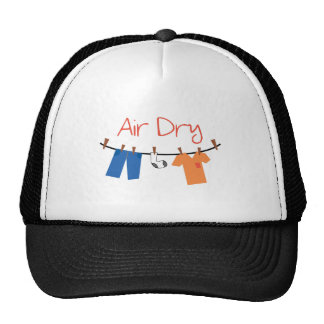 laundry_Air Dry Trucker Hat