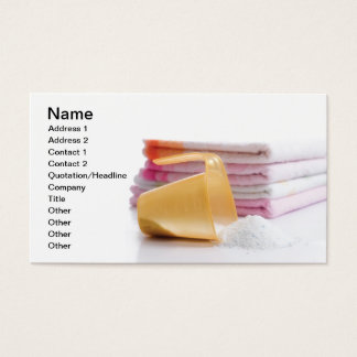 Laundry Business Card