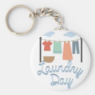 Laundry Day Key Ring