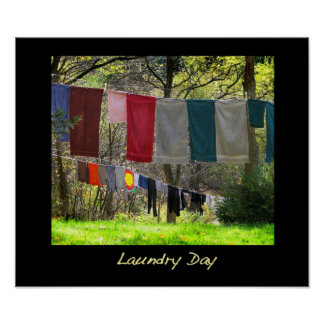 Laundry Day Poster