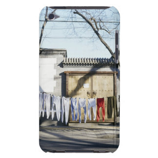 Laundry Drying on Clotheslines Barely There iPod Cover