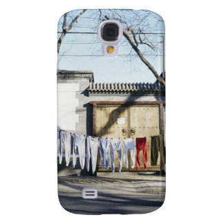 Laundry Drying on Clotheslines Galaxy S4 Case