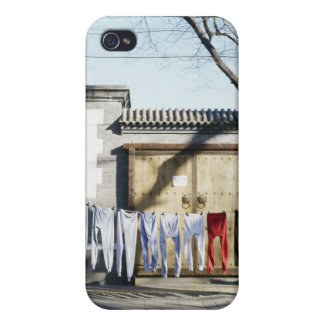 Laundry Drying on Clotheslines iPhone 4/4S Case