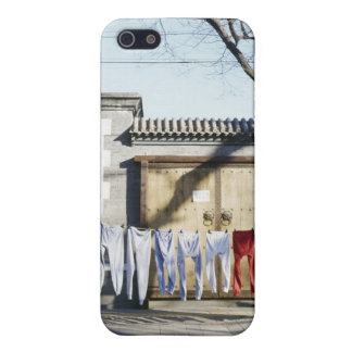 Laundry Drying on Clotheslines iPhone 5/5S Case