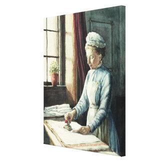 Laundry Maid, c.1880 Canvas Print