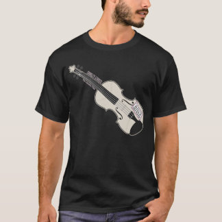 Laundry Mo's Violin Black T-shirt