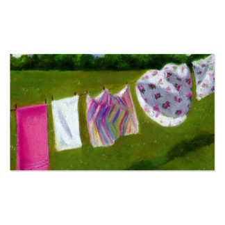 Laundry on Line: Business Card: Wind Energy Pack Of Standard Business Cards