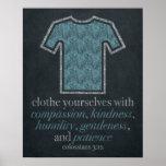 Laundry Room Chalkboard Art 16x20 Poster