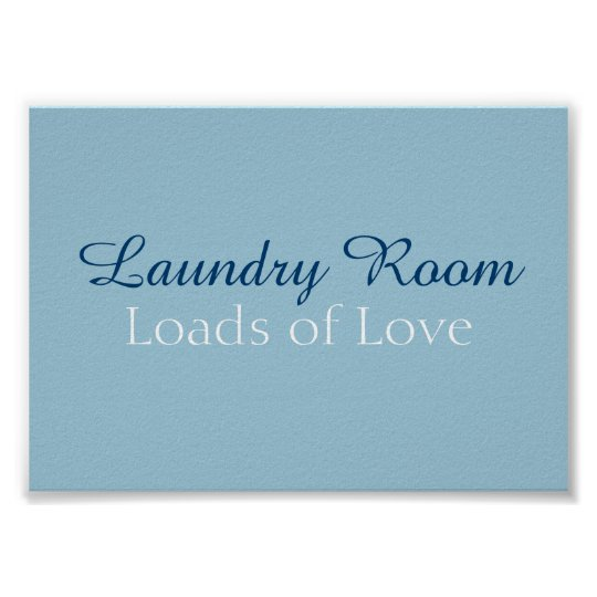 Laundry Room Frameable Poster
