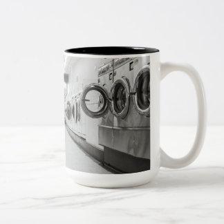 laundry Two-Tone coffee mug