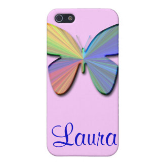 Laura_Butterfly Speck Case iPhone 5 Cases