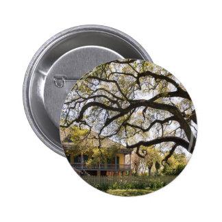Laura Plantation,  New Orlean 6 Cm Round Badge