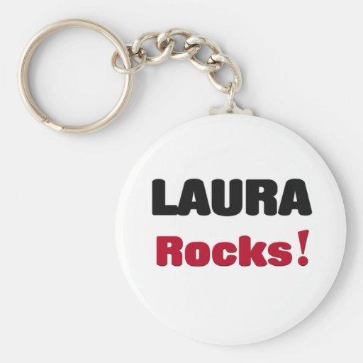 Laura Rocks Key Chains