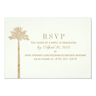 Laura's RSVP Card