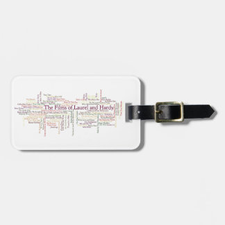 Laurel and Hardy Themed Item Luggage Tags