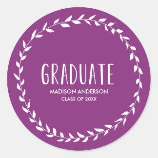 Laurel Border | Graduation Sticker